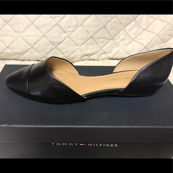 29d02272 Tommy Hilfiger Shoes | Naree3 Dorsay Flats Nib | Poshmark